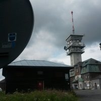 Klinovec 1244m- Höchste Erhebung im Erzgebirge