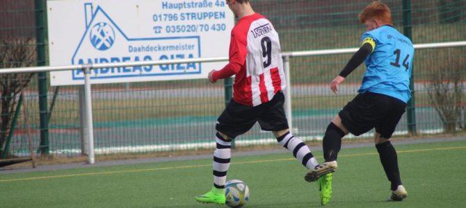 A-Junioren verlieren Test in Pirna